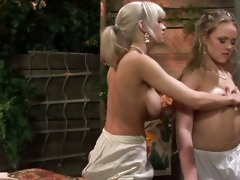 hottest lesbo blond act that is will watch