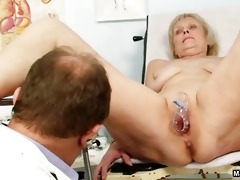 doctor abusing a male grandma part2