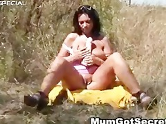 concupiscent mother i gets drilled hard outdoor