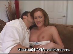 wussy hubby shares sexy wifey