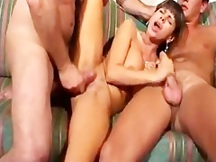 hot pantoons in a sexy groupsex scene