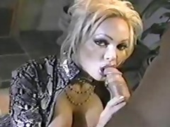 classic d like to fuck houston engulfing cock!