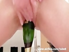 extreme slut bonks a monster sex-toy and