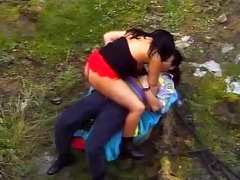 breasty milf-reality in the spanish mountains