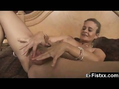 yummy titty fisting older constricted drilled