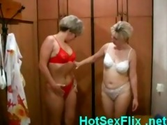 aged lesbo whores fucking in sauna