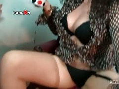 lesbo matures widening legs to rub pussies