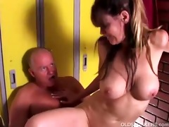 hot aged sweetheart enjoys a fuck and a facial