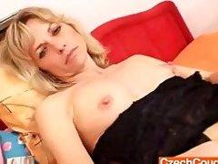 sweet blonde dilettante madam st time flick