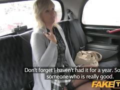 faketaxi older blond mamma has the ride of her