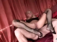 gracious blond d like to fuck floozy with large