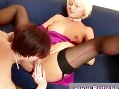 older lesbos in nylons and gorgeous dresses give