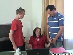 wicked granny takes cocks