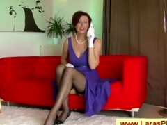 chic older nympho mamma with nylons