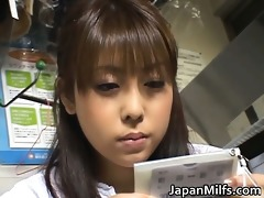 lustful japanese milfs engulfing and fucking