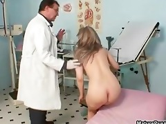 pink aged pussy receives examed part8