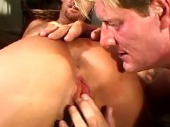 sexy lewd blond mamma & her 8 allies