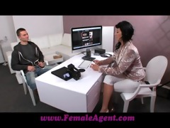 femaleagent guy fails at the final hurdle