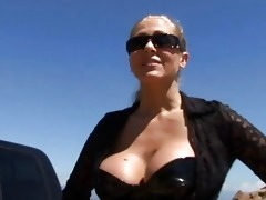 breathtaking breasty milfs having fun with lads
