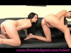 femaleagent. shy girl can anal creampies
