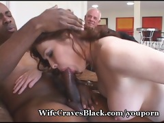 breasty wife fucking darksome stud