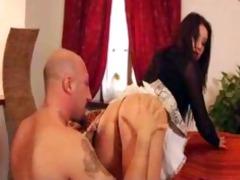 sexy euro hottie ellegantly fucked into ass