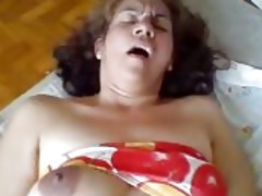 she is is a doxy wife on the couch