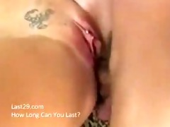 sexy blond amber drilled tough