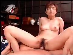 marvelous geisha seduces youthful chap