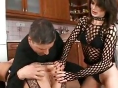 laras gaping serf butt