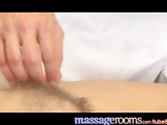 massage rooms older woman with hirsute twat given