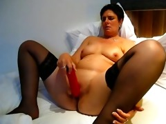 obese older bitch drilled