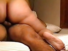latin wife with big gazoo riding hubbys schlong