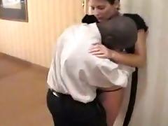 interracial spouse cuckold watches his wife