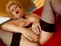 unattractive breasty granny riding biggest shlong