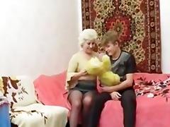 russian granny fuck
