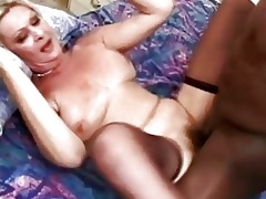 pale golden-haired momma with hairy vag acquires