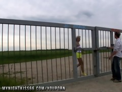 blond german d like to fuck screwed outdoor and