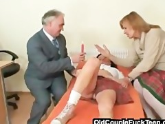 drilled by an old kinky shrink