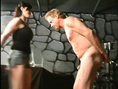 extraordinary dominant-bitch way-out balls kicking