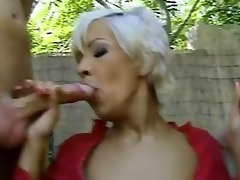 slim blonde d like to fuck takes two. anal