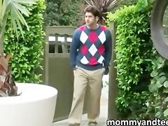 concupiscent daughter fucking bf with stepmom