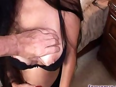 breasty mother i foxy anya gives a favourable lad