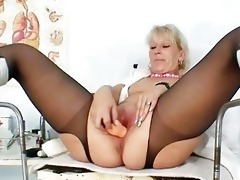 blond d like to fuck in latex uniform