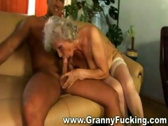 aged granny getting fucked by a big cock