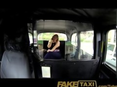 faketaxi lewd after interview and gagging for big