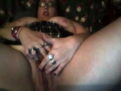wife masturbating with her toy