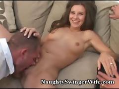 wifey bucks like bronco on fresh dick