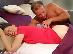 mama spouse and wife make love in the morning