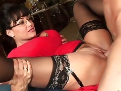 spruce large titted mother i hoe acquires her